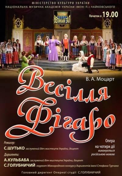 Опера «Женитьба Фигаро»